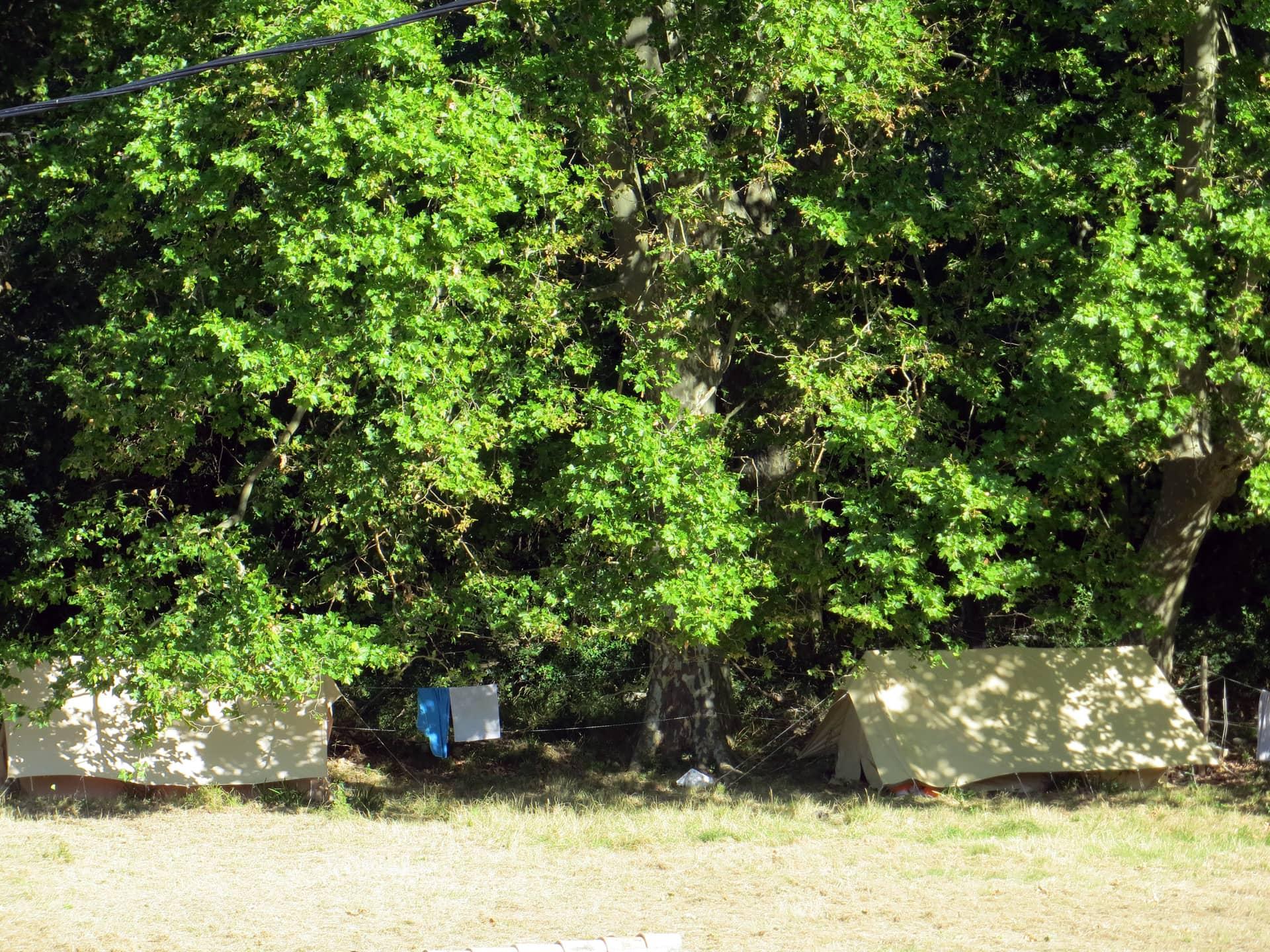 Camping à la ferme au Domaine de Christin