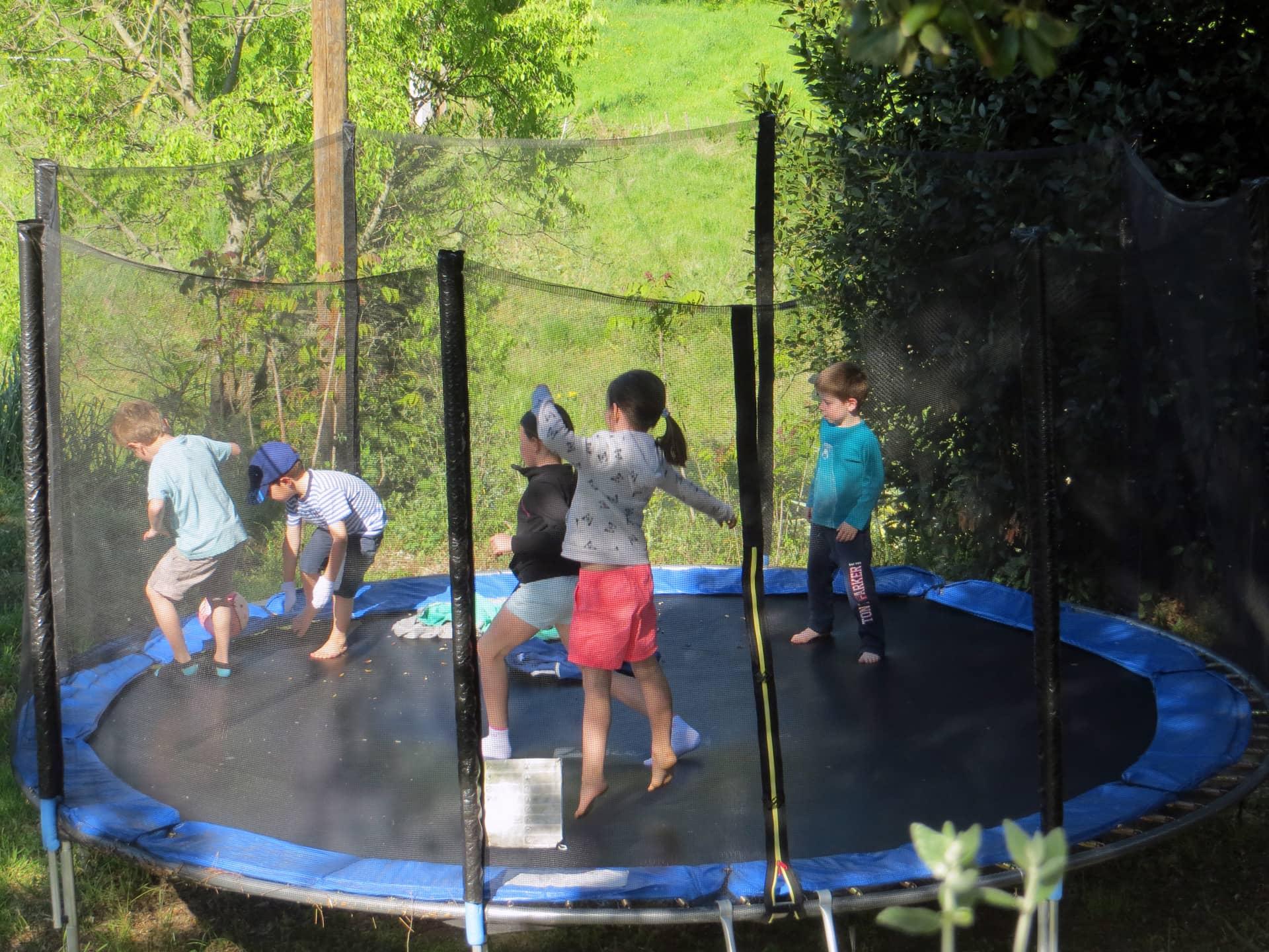 Jeux extérieurs pour enfants aux Domaine de  Christin