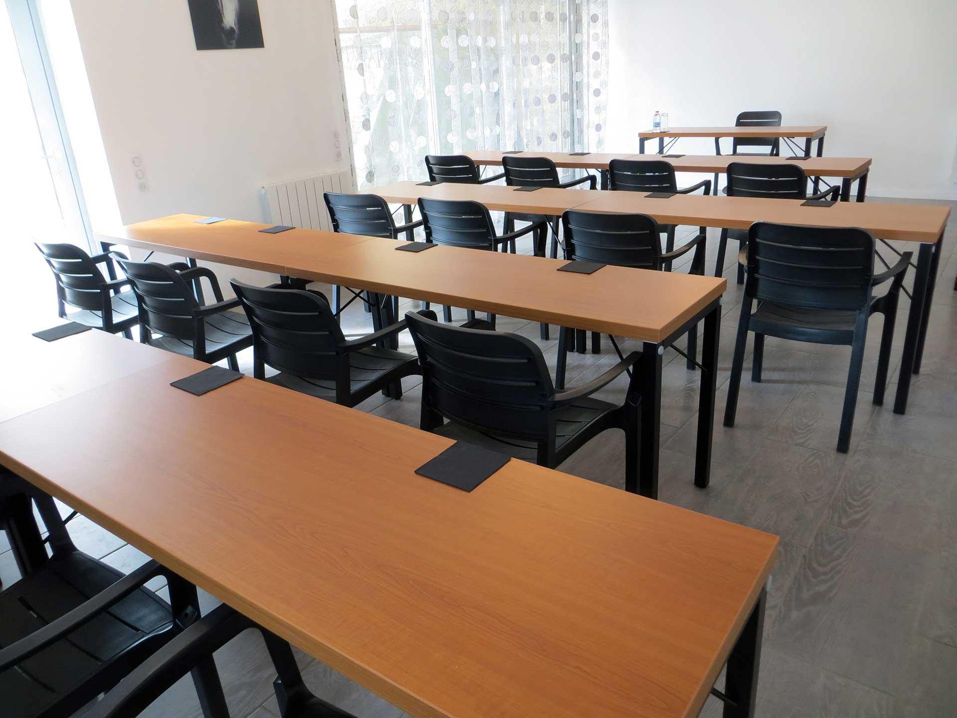 Salle de réunion au Domaine de Christin