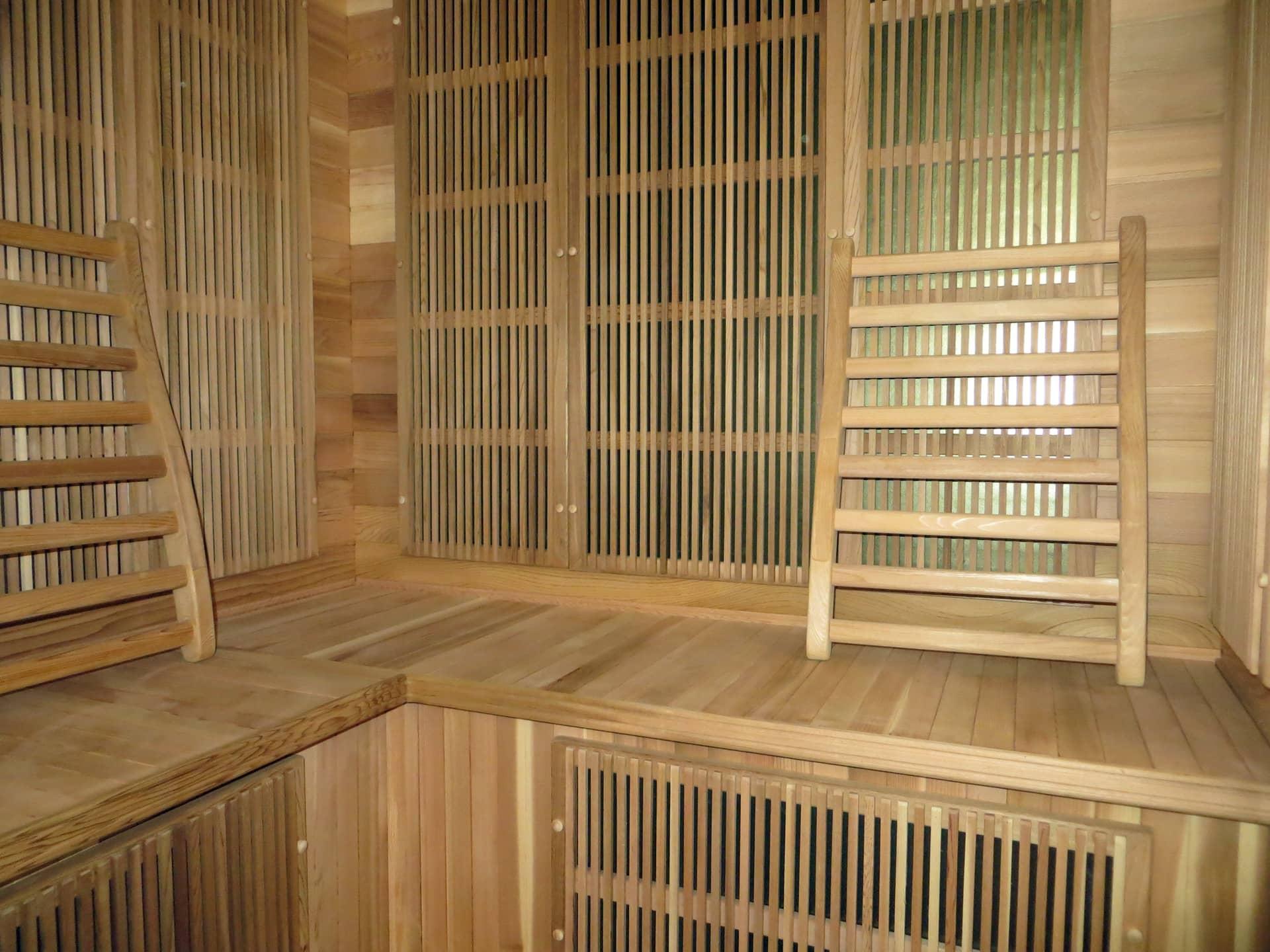 Saune détente au Domaine de Christin