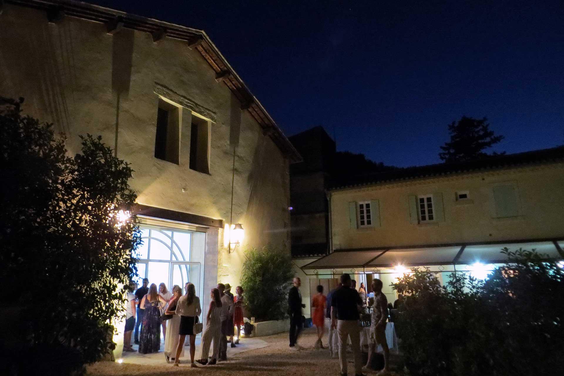 Ambiance soirée au Domaine de Christin