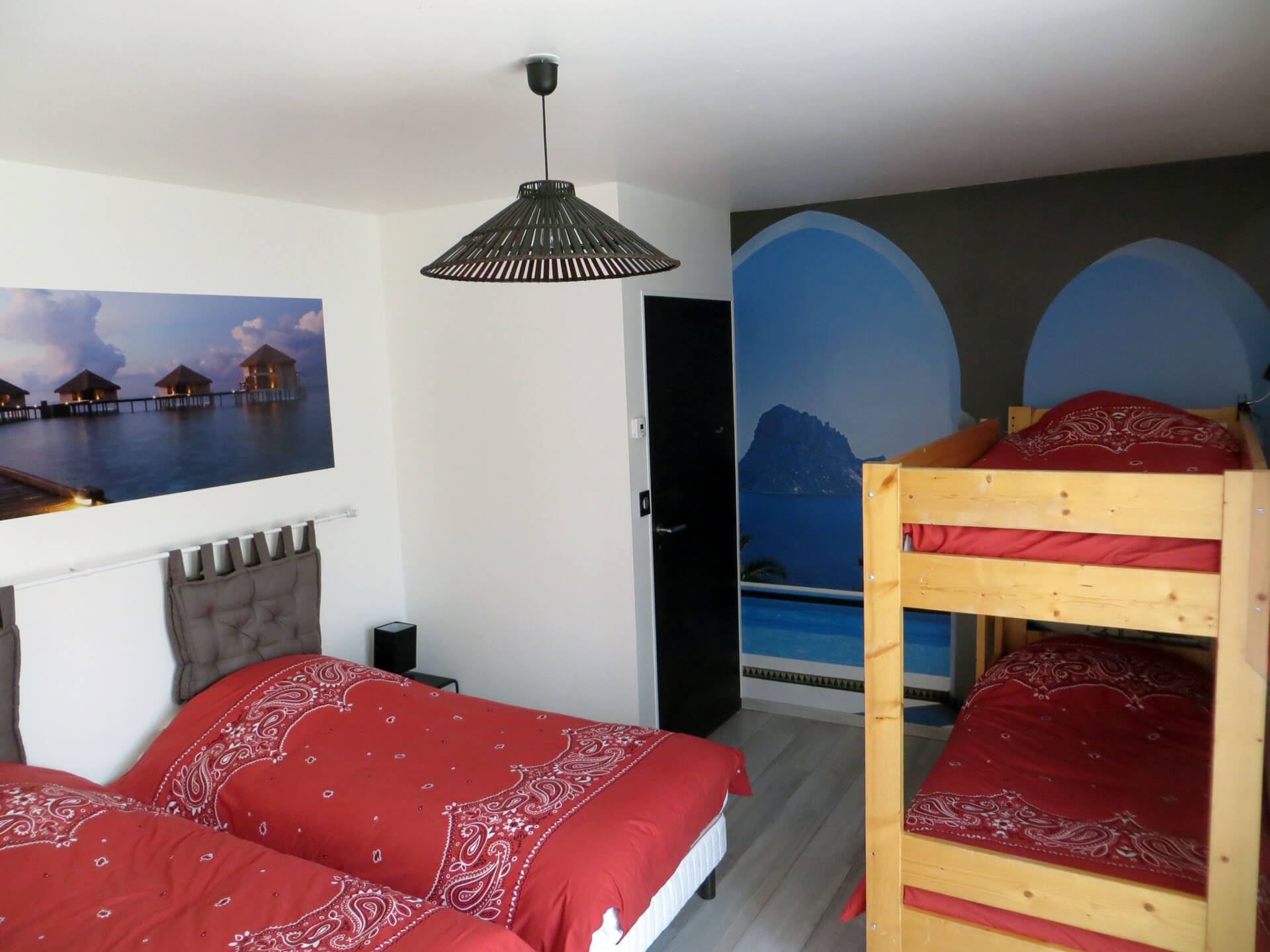 Petite chambre villa Picholine Domaine de Christin