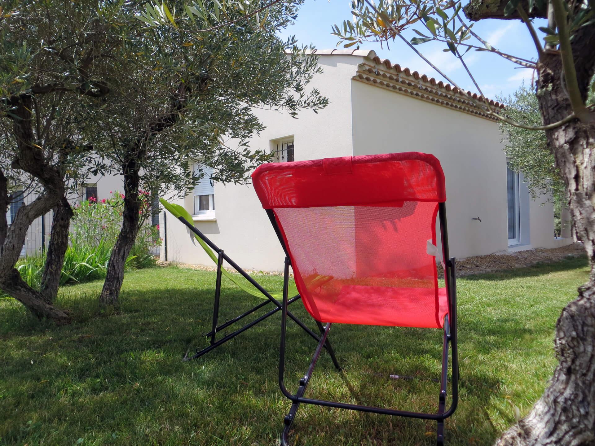 Location villa Picholine Domaine de Christin